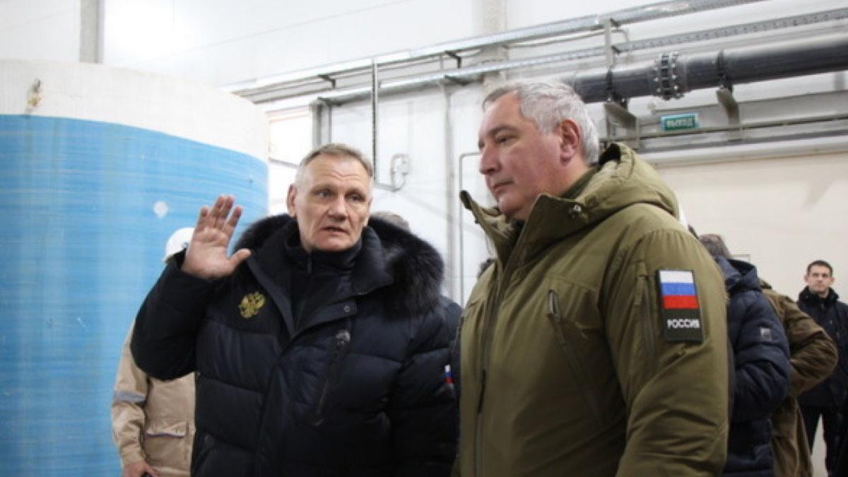 Андрей Охлопков и Дмитрий Рогозин