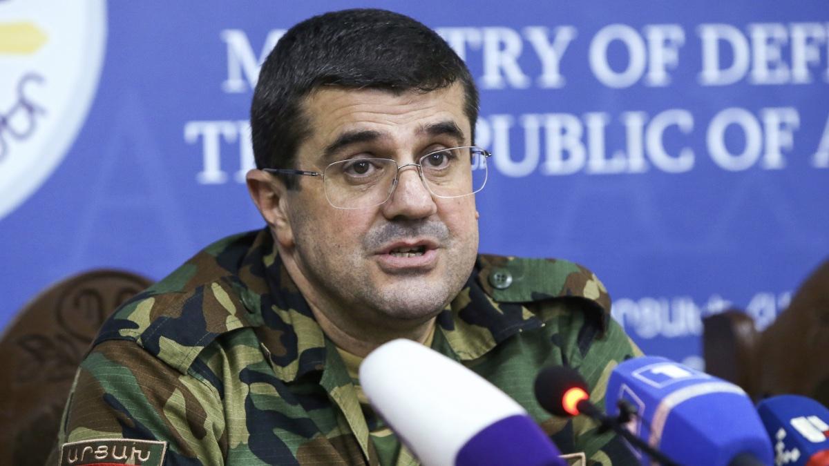 Президент непризнанной Нагорно-Карабахской Республики Араик Арутюнян