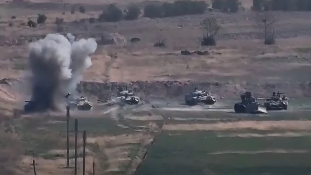 Боевые действия в Нагорном Карабахе