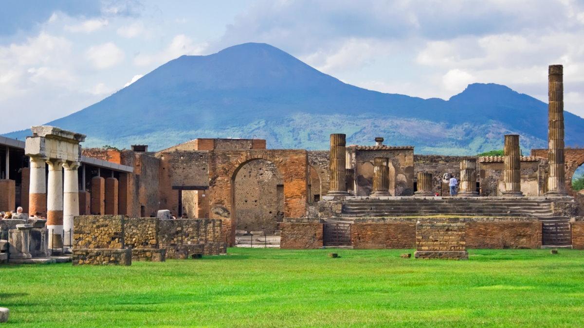 Помпеи Италия извержение Везувия Везувий вулкан туризм