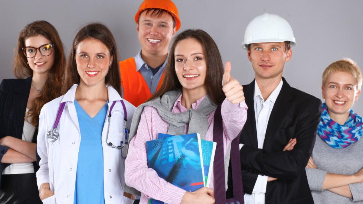 Разные профессии занятость профессия