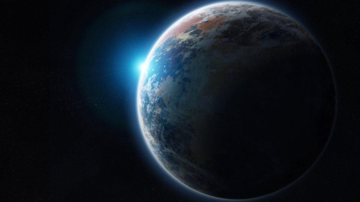 Экзопланета с синей звездой обитаемый мир