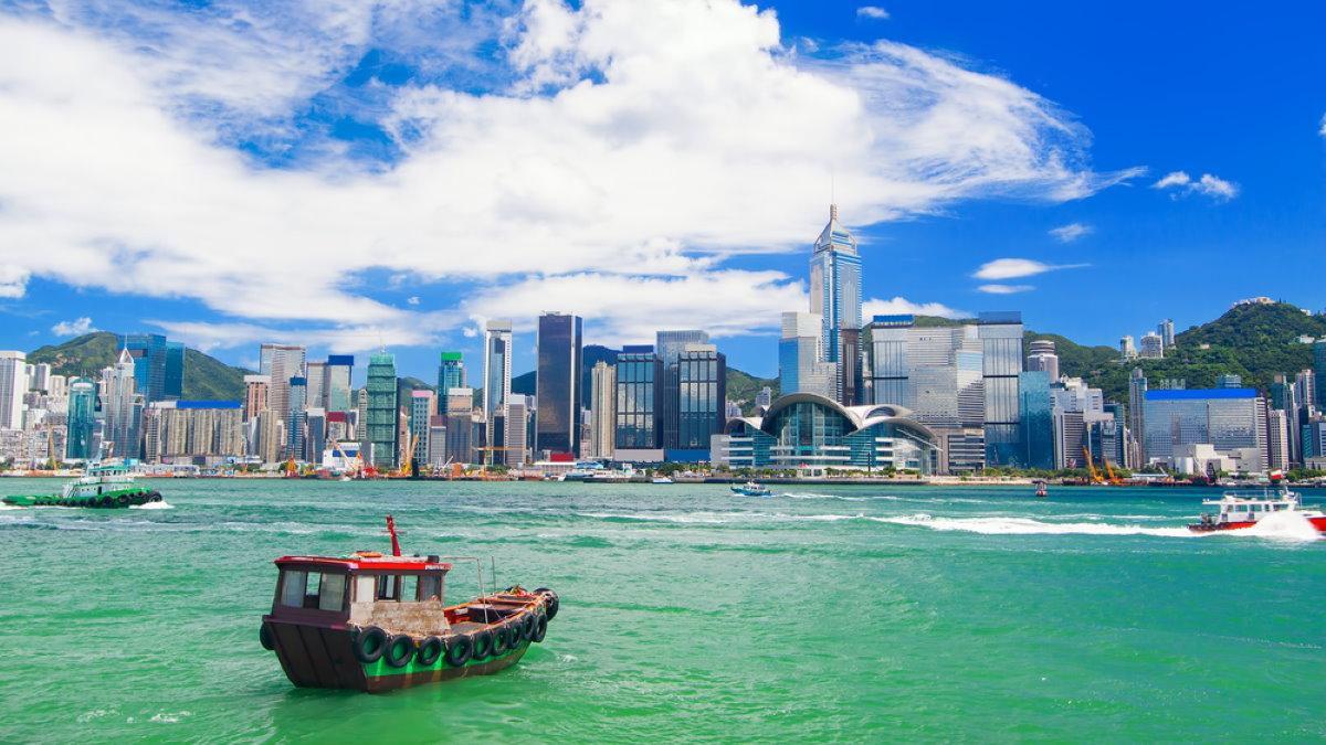 Гонконг Китай туризм