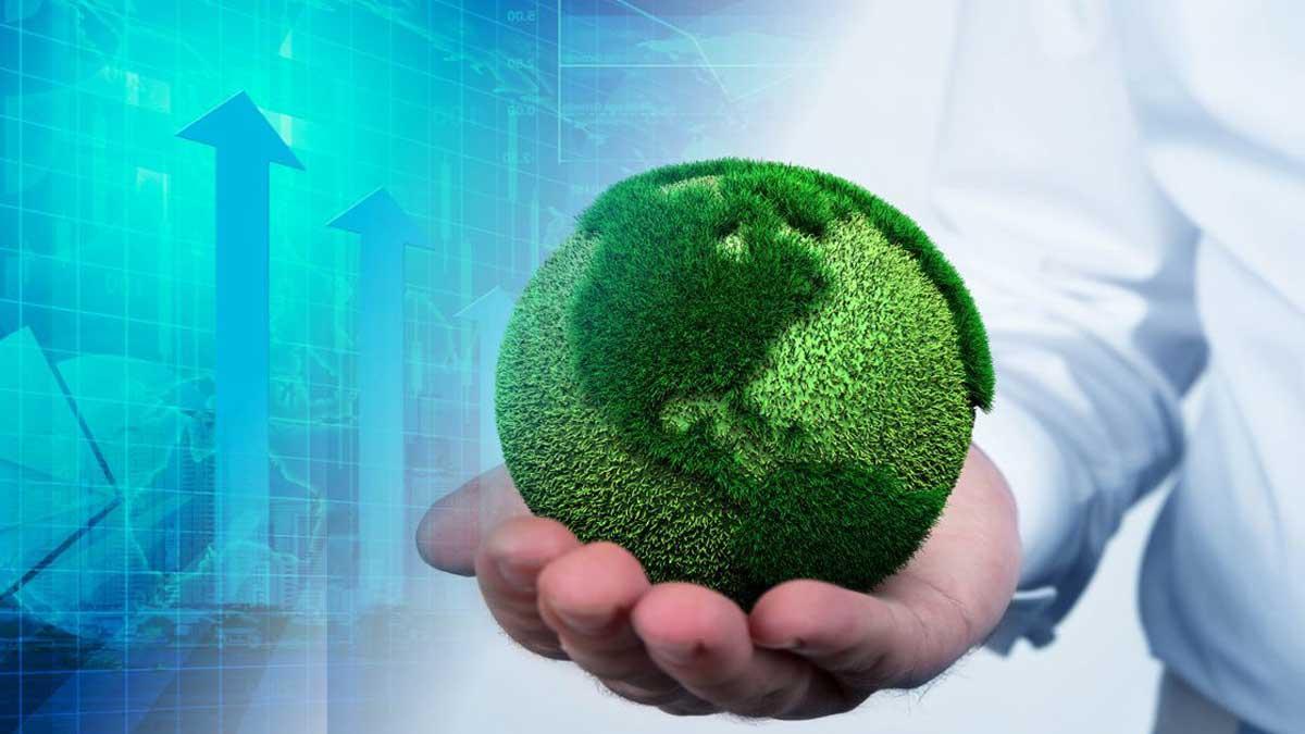 Экологически чистая замена углю Земля
