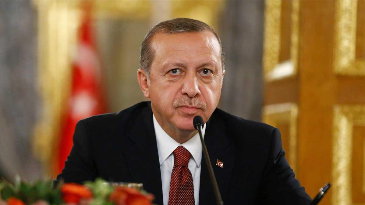 Эрдоган карикатура