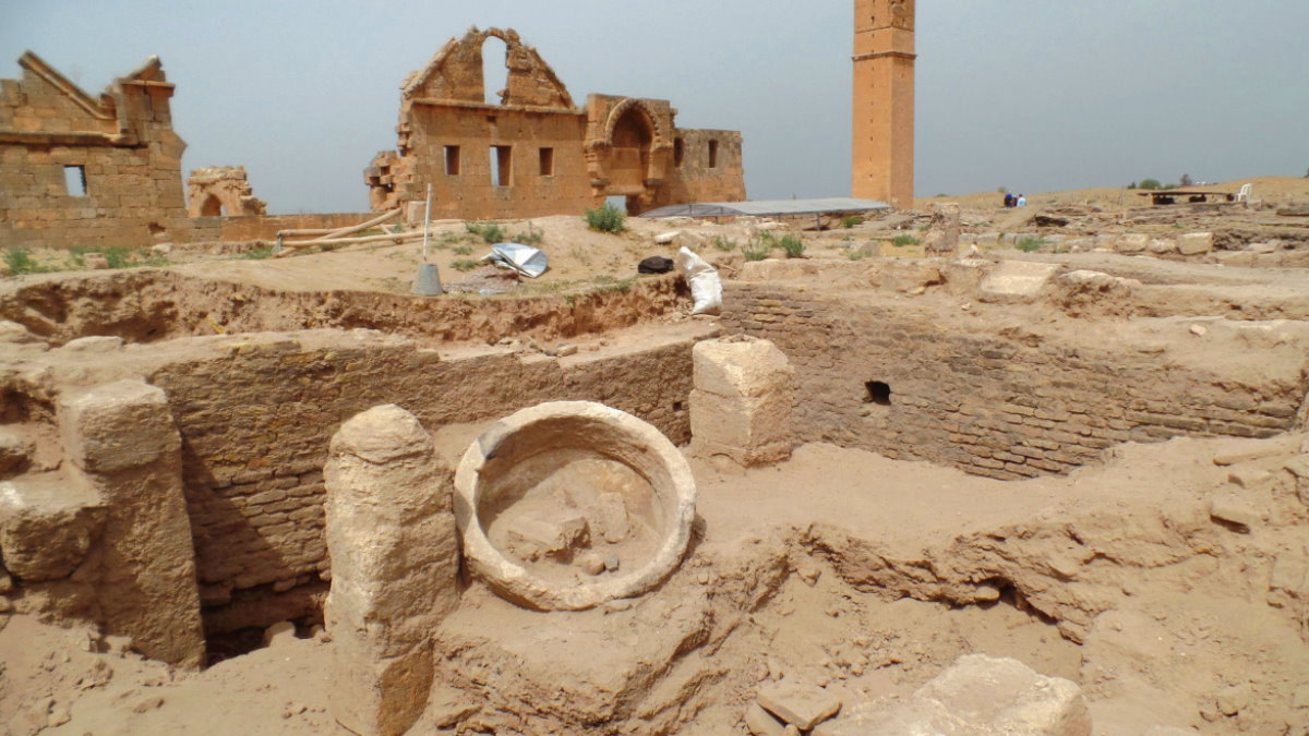 Харран Турция раскопки археология