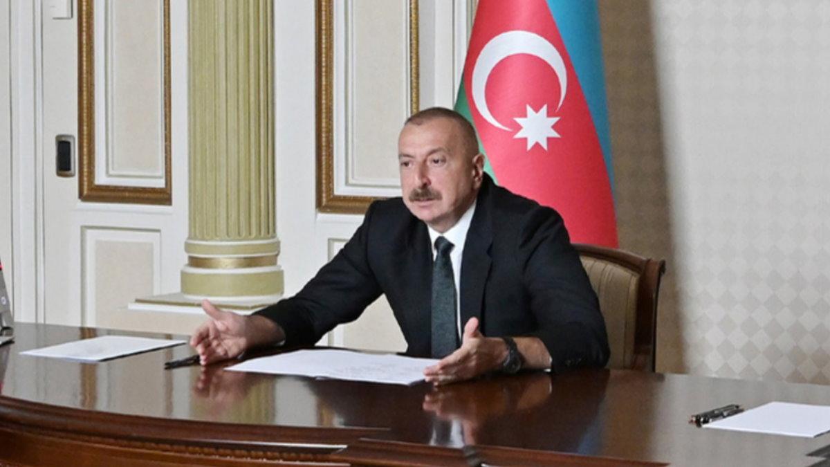 Президент Азербайджана Ильхам Алиев кабинет один