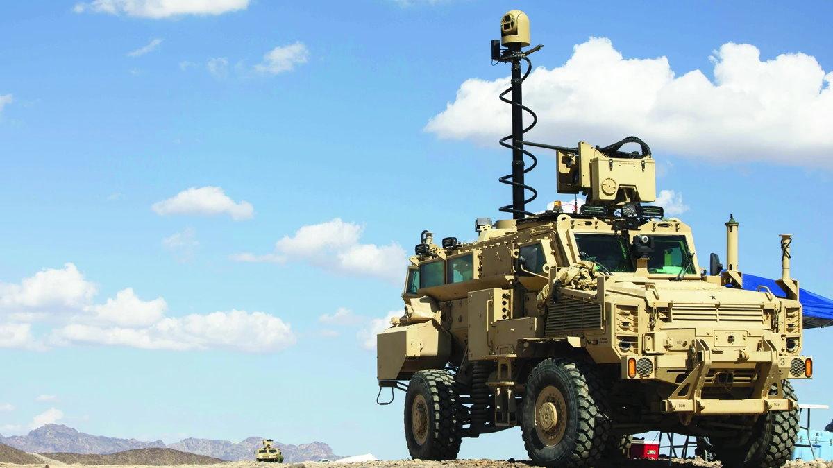 Испытания пушки и систем управления армии США