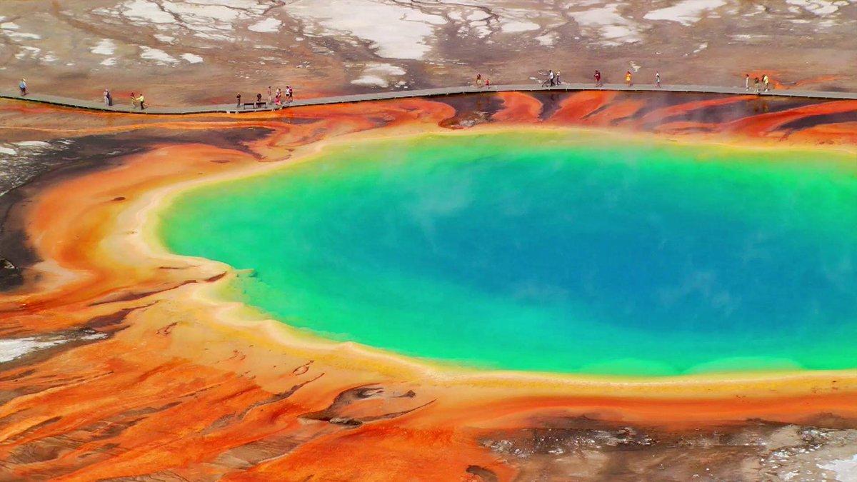 Йеллоустоун вулкан Кальдера извержение