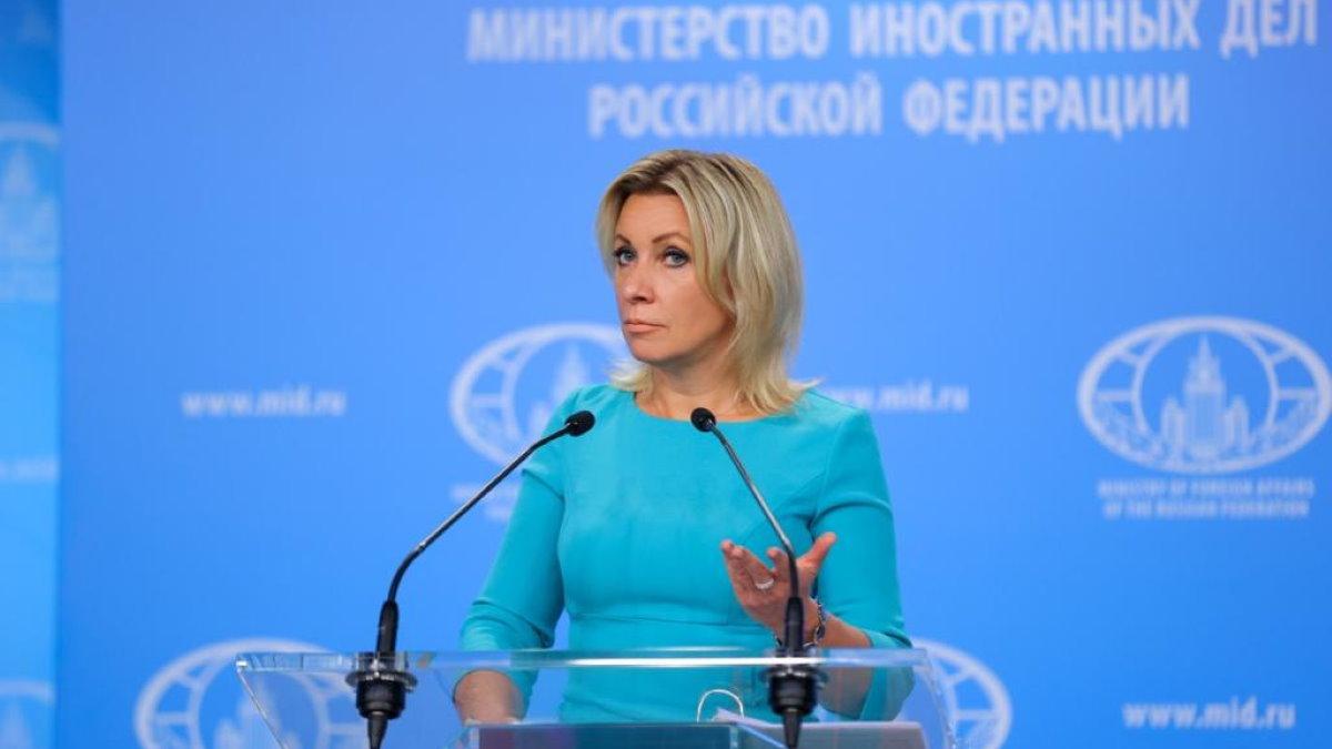 Официальный представитель МИД России Мария Захарова девять