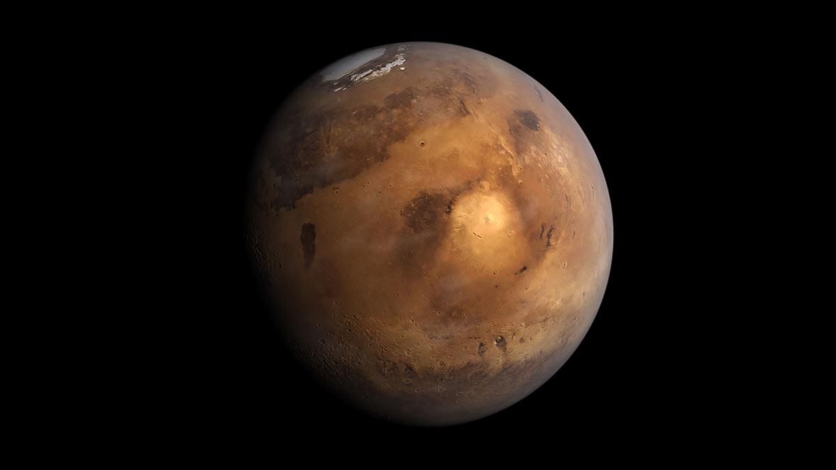 марс планета космос небесное тело