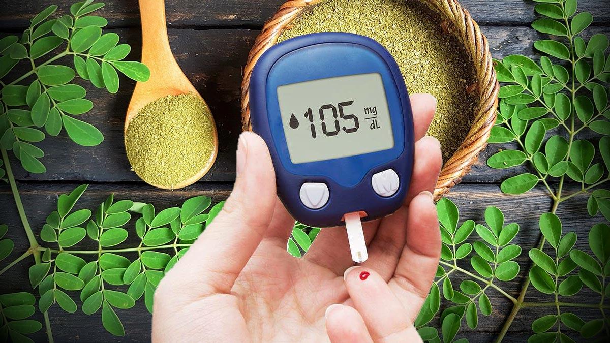 Моринга сахар в крови диабет травы здоровье