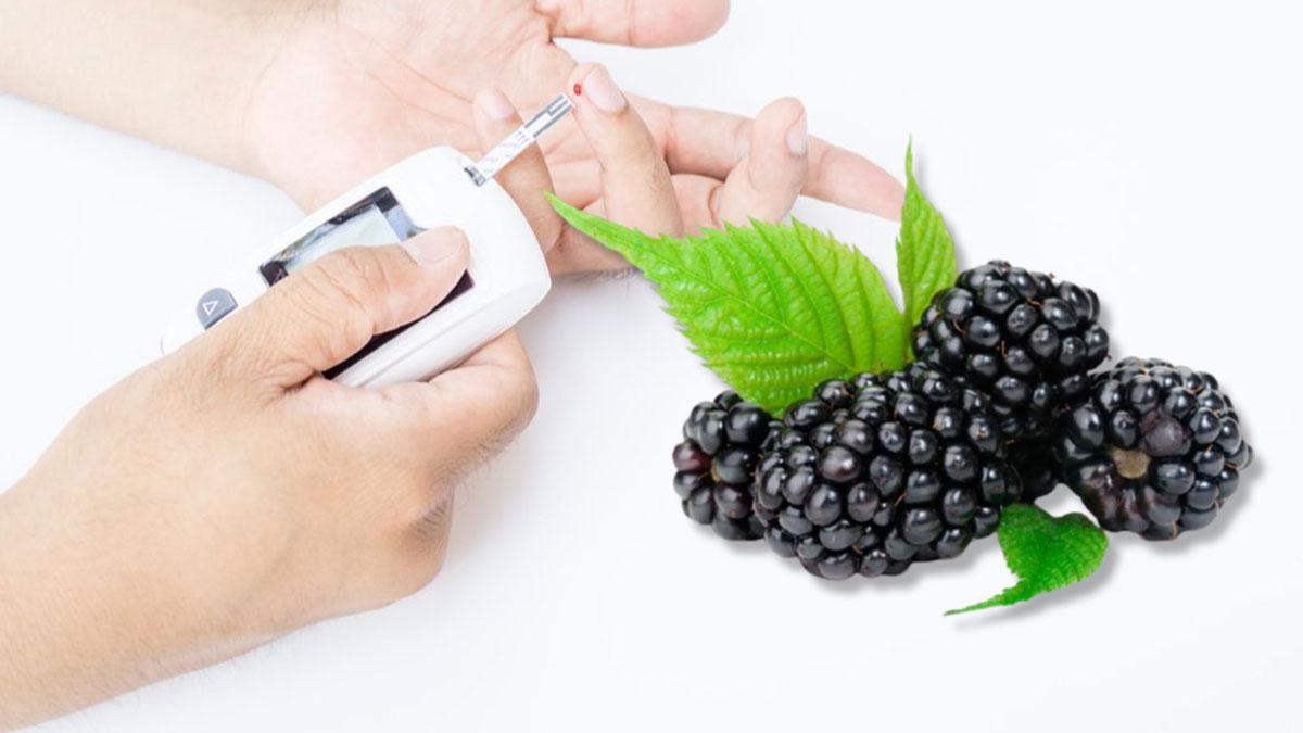 сахар в крови диабет ежевика глюкометр здоровье