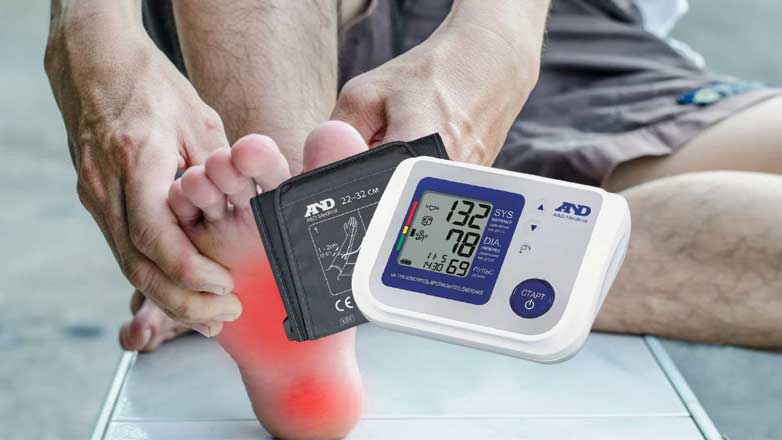 Ноги тонометр давление