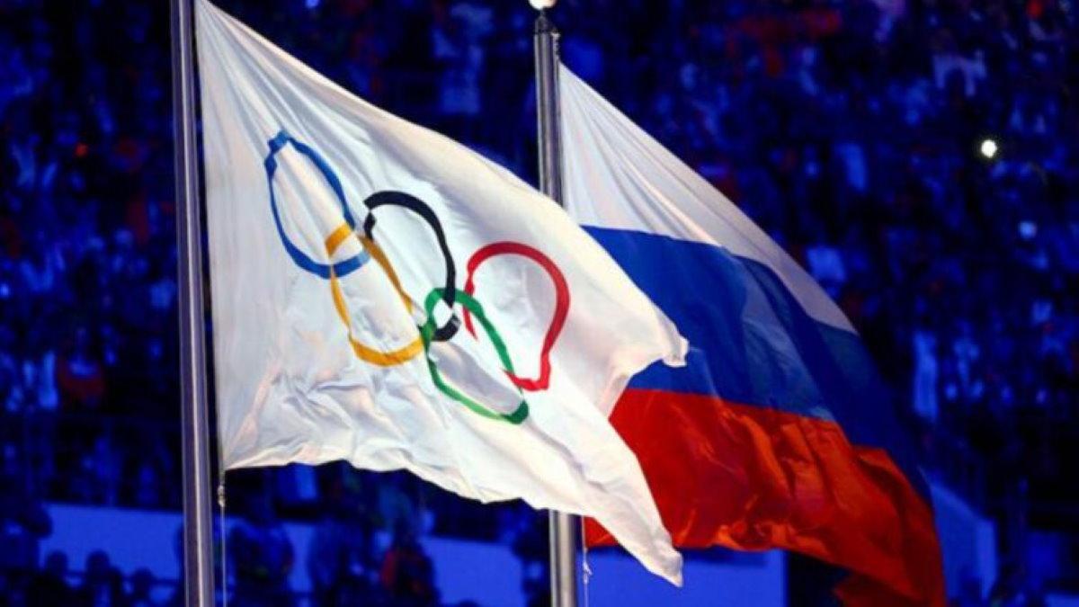 Олимпиада олимпийские игры Россия флаги