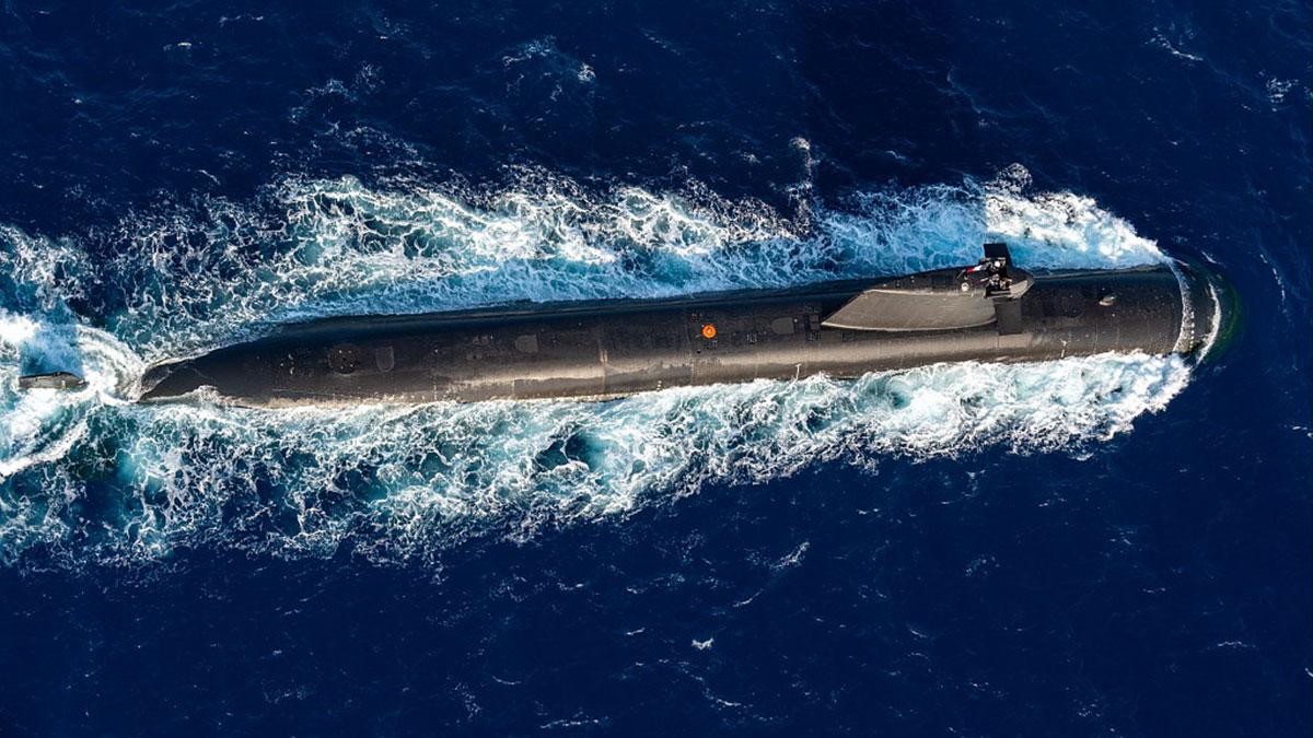 ВМС Франции подводная лодка Перл Perle S606