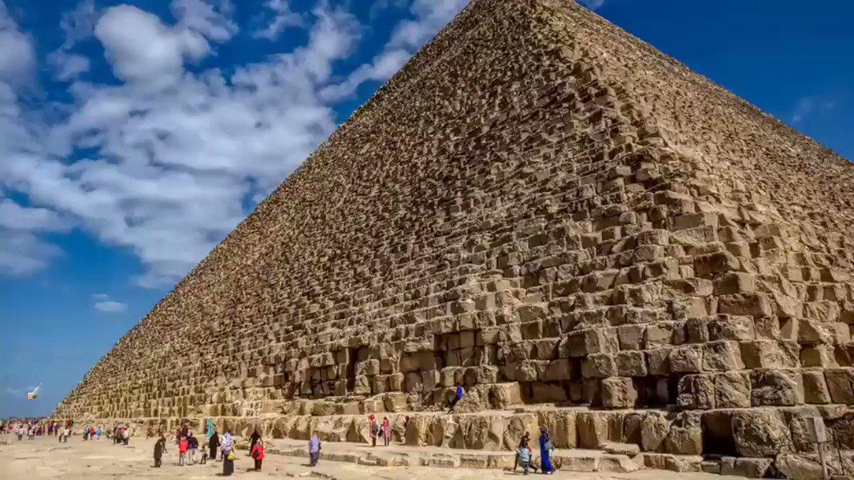 Пирамида Хеопса Гиза один