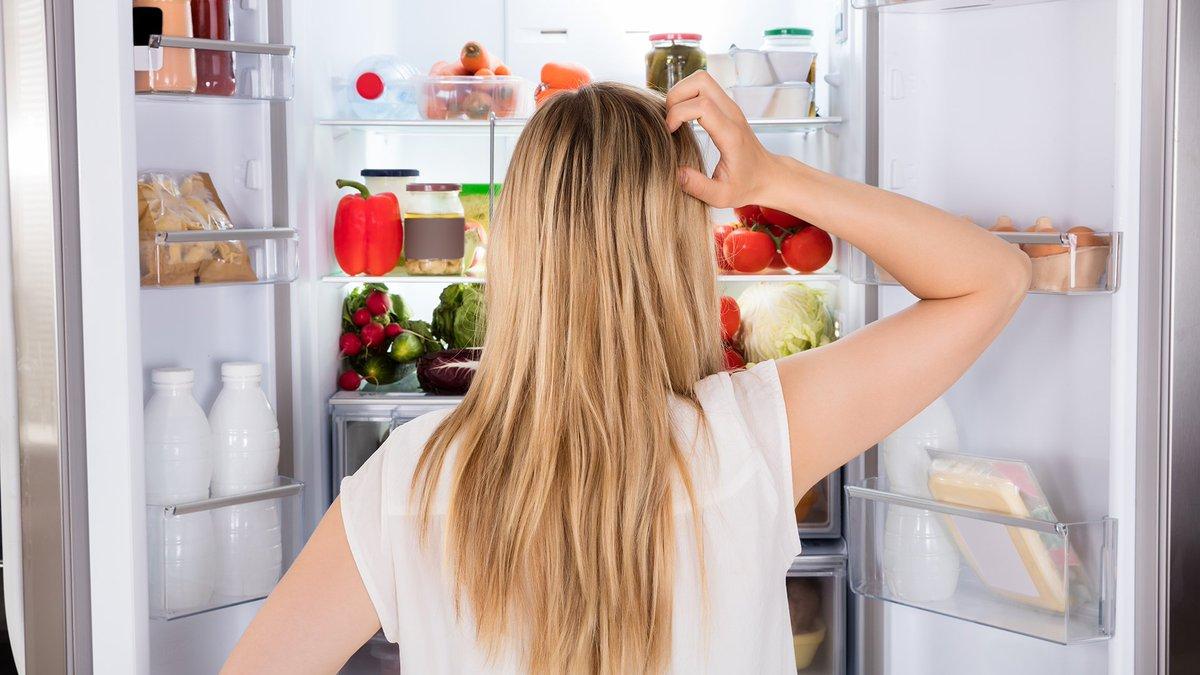 Продукты холодильник