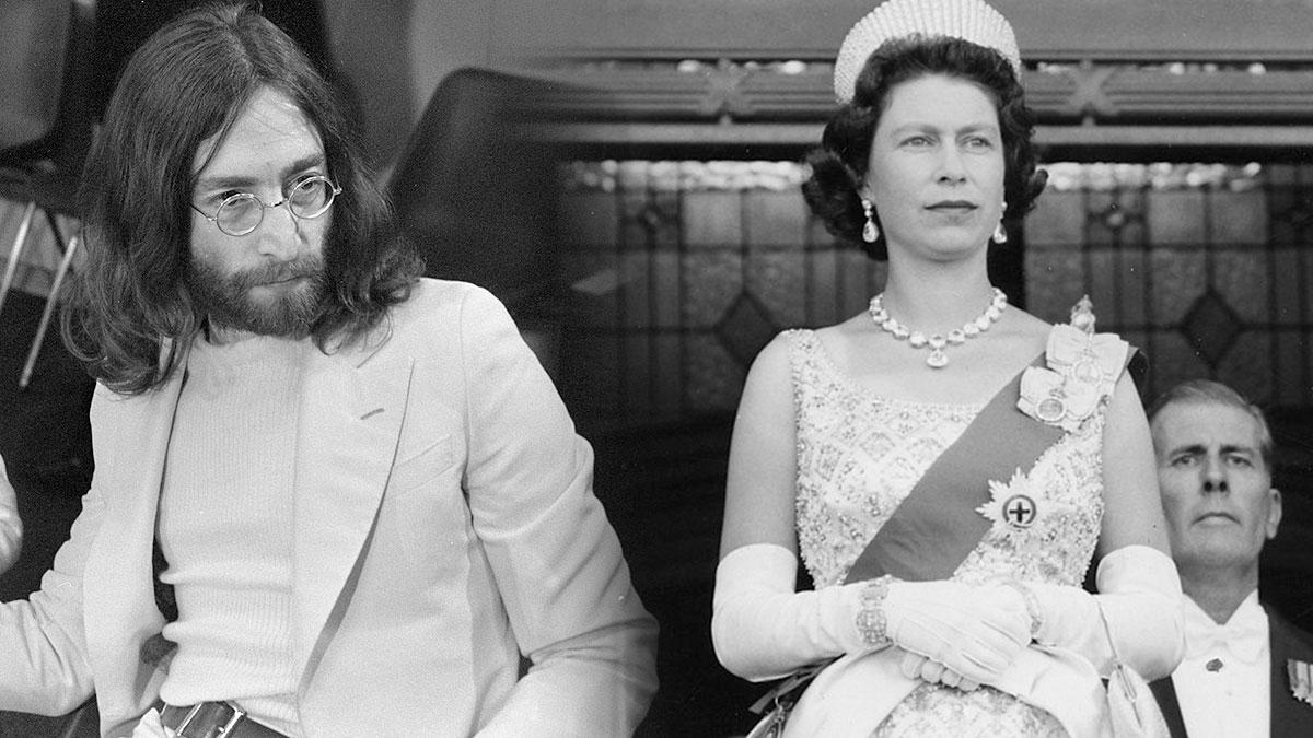 джон леннон и королева елизавета вторая