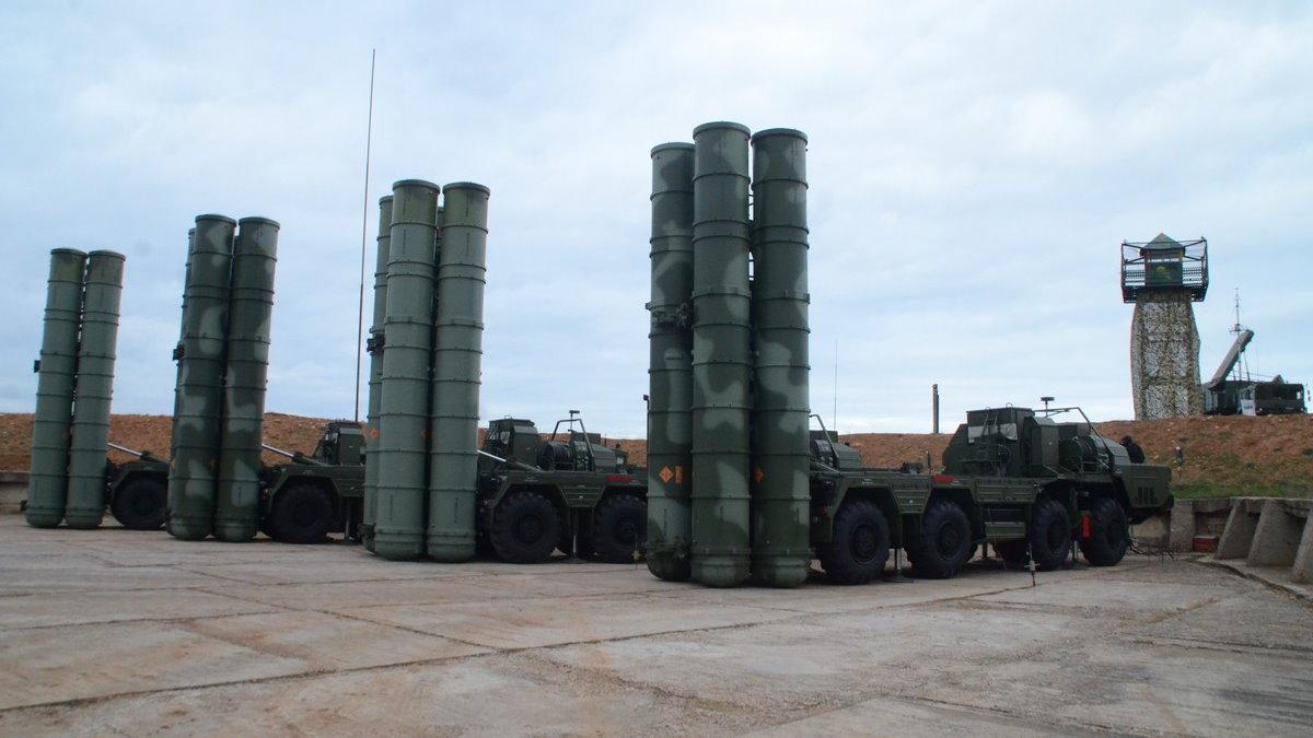ЗРС С-400 Триумф база два