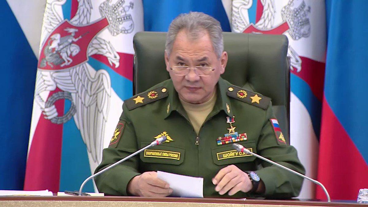 Сергей Шойгу коронавирус армия