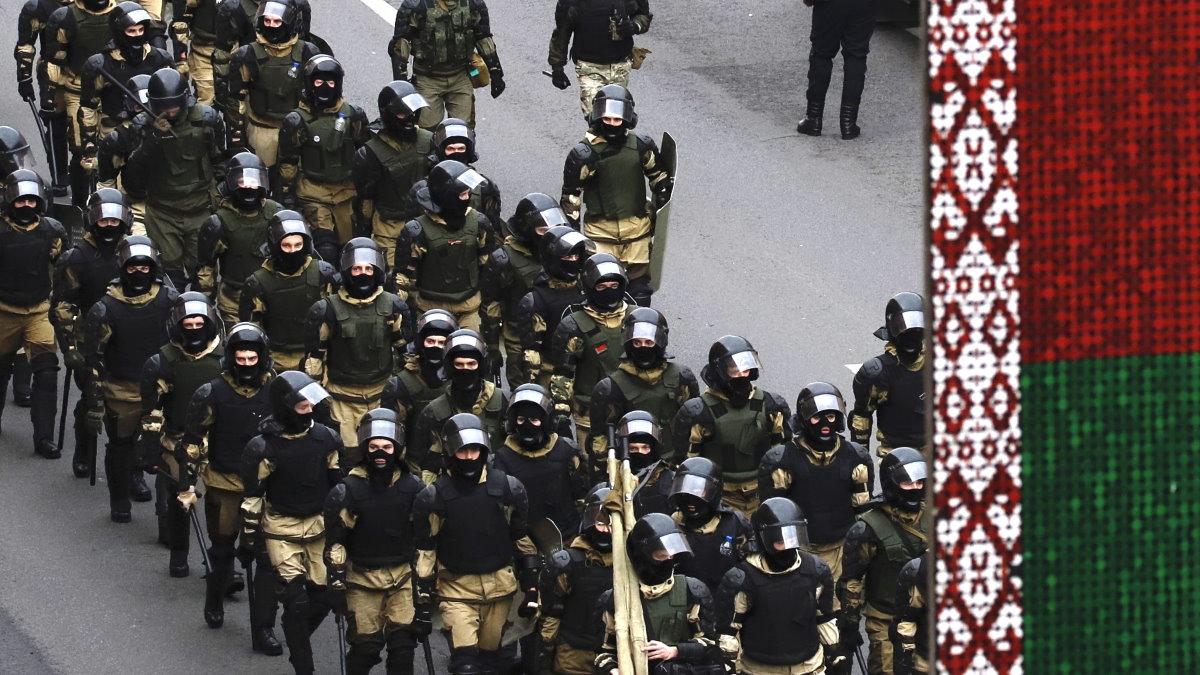 Белоруссия Беларусь милиция