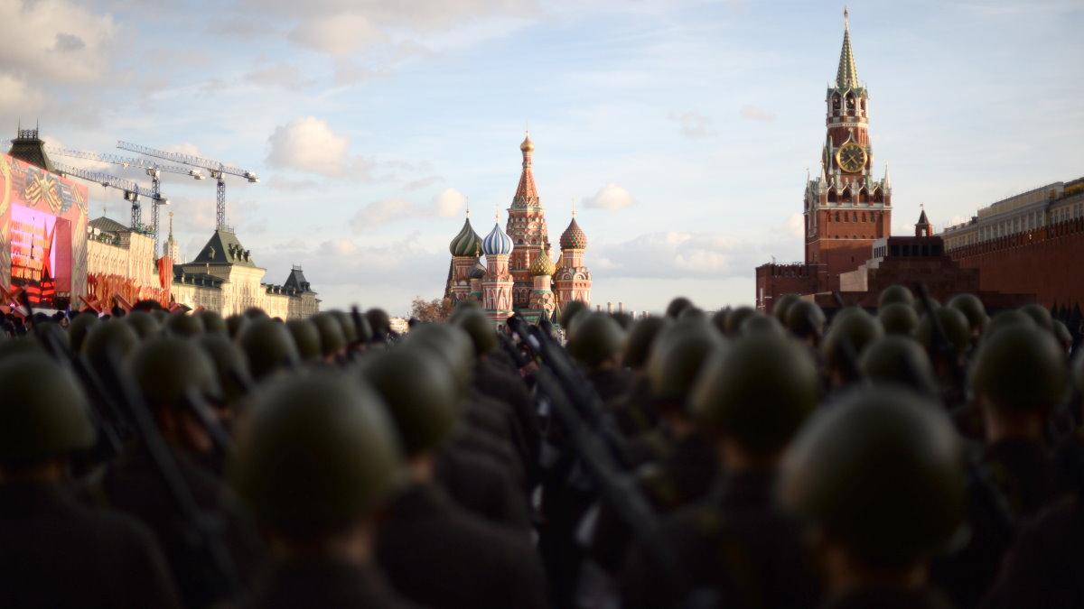 Марш в честь парада на Красной площади 7 ноября 1941 года Красная площадь