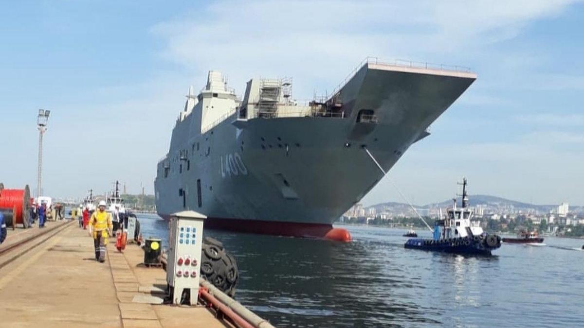 Турецкий универсальный десантный корабль Анадолу - L-400 Anadolu