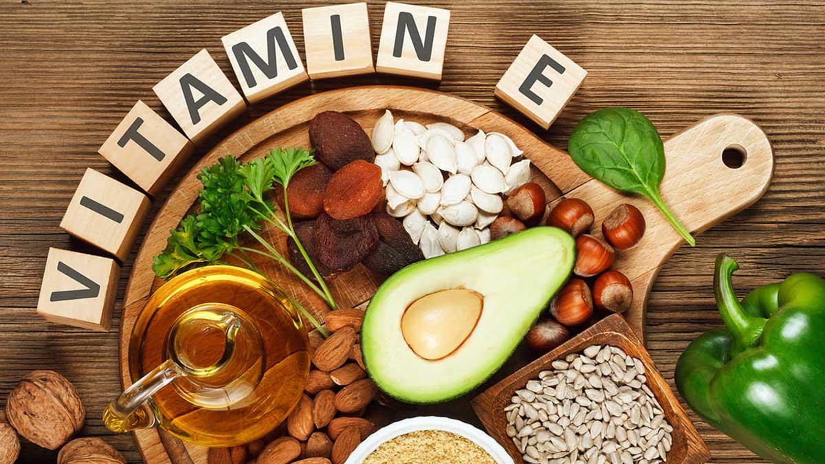 Витамин Е орехи миндаль шпинат