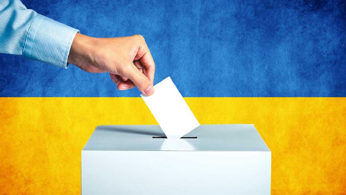 Выборы Украина раскол
