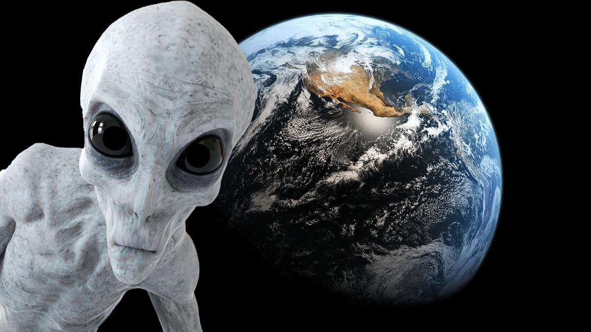 земля планета космос инопланетянин нло пришелец