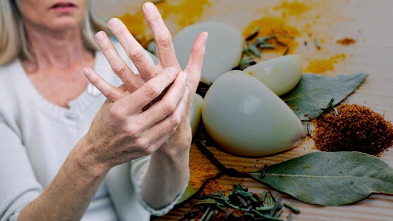 артрит чеснок куркума