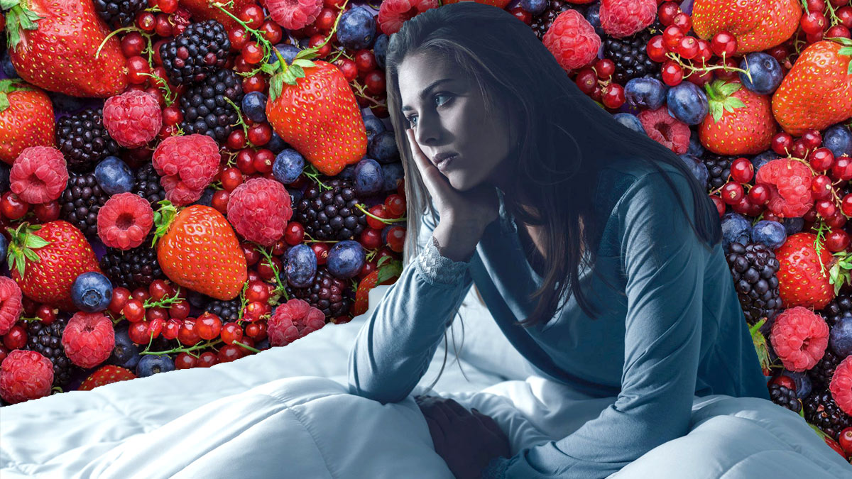 беспокойство ягоды сон бессонница здоровье