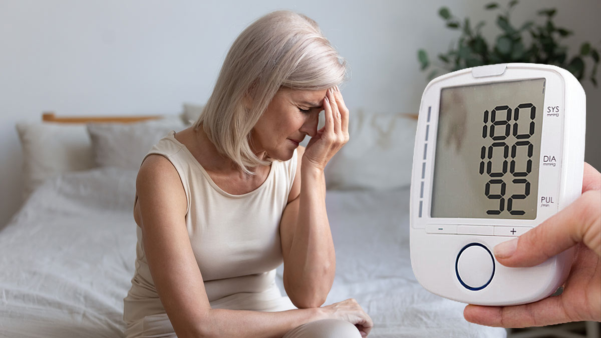женщина в возрасте гипертония