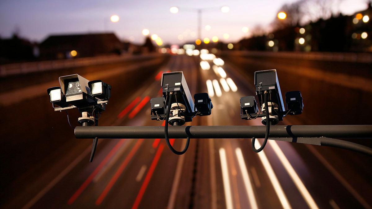 камера контроля скорости дорога видеофиксация