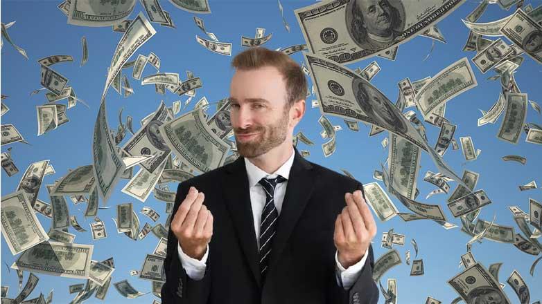 деньги много мужчина