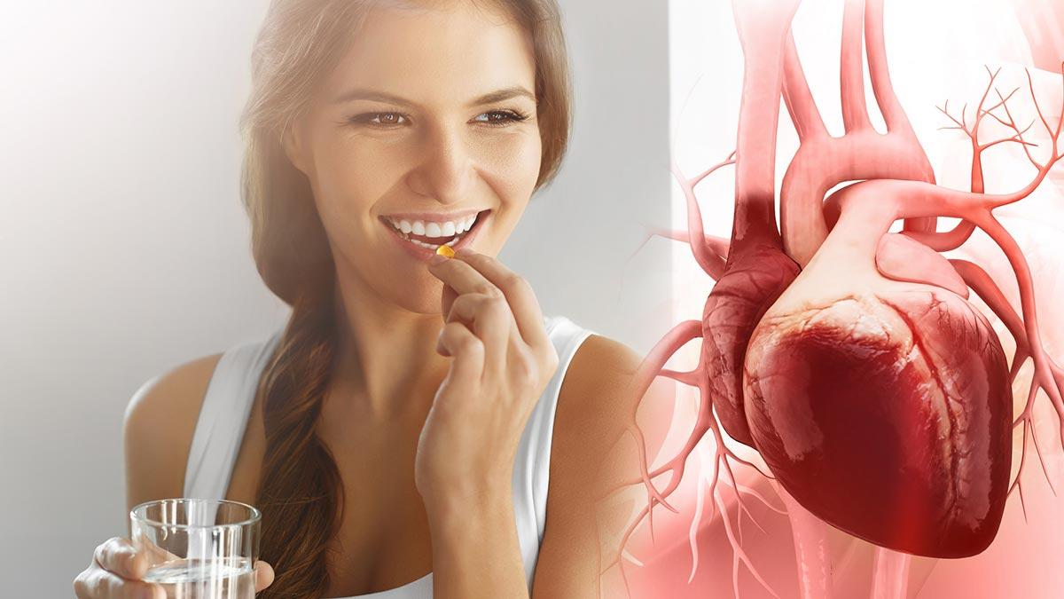 сердце таблетки лекарства девушка добавки витамины