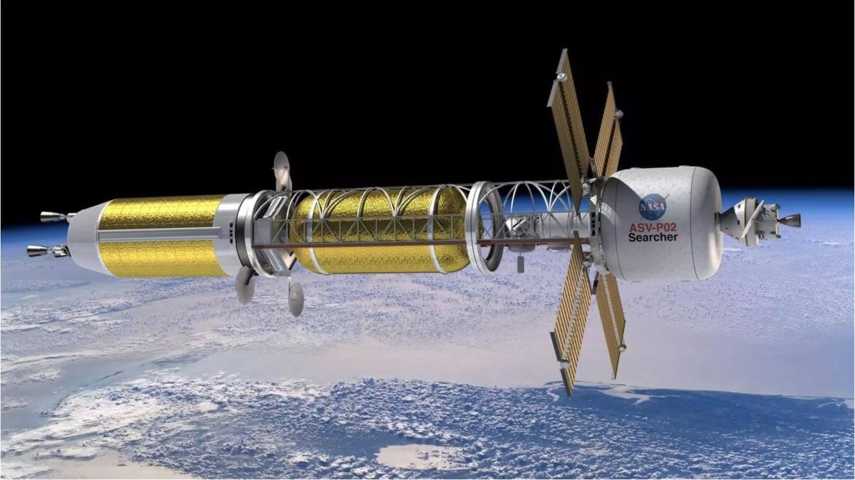 концепт космического корабля с ядерной силовой установкой, DARPA