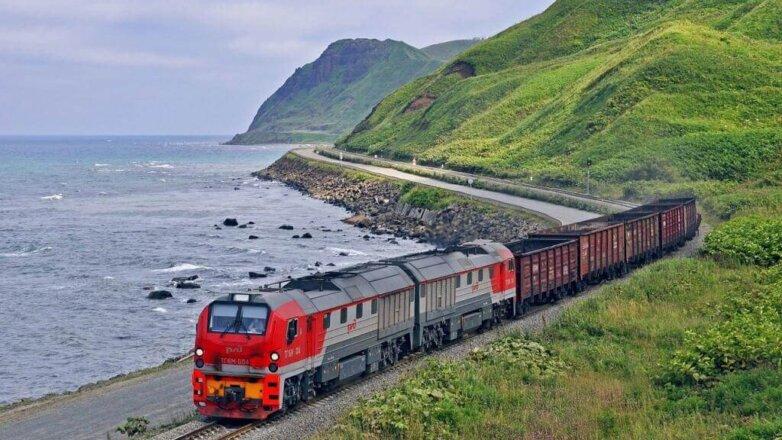 железная дорога на Сахалине