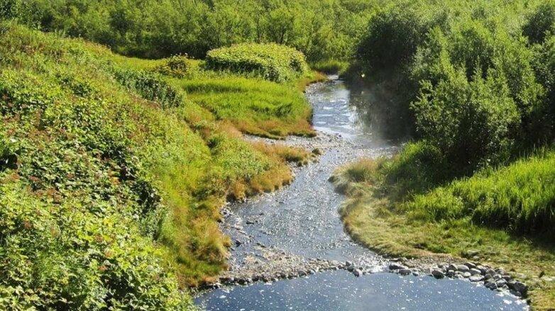 Река Налычева, природный парк Налычево