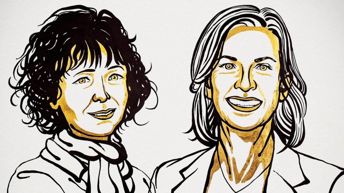 Нобелевские лауреаты 2020 года по химии: Эммануэль Шарпантье и Дженнифер Дудна