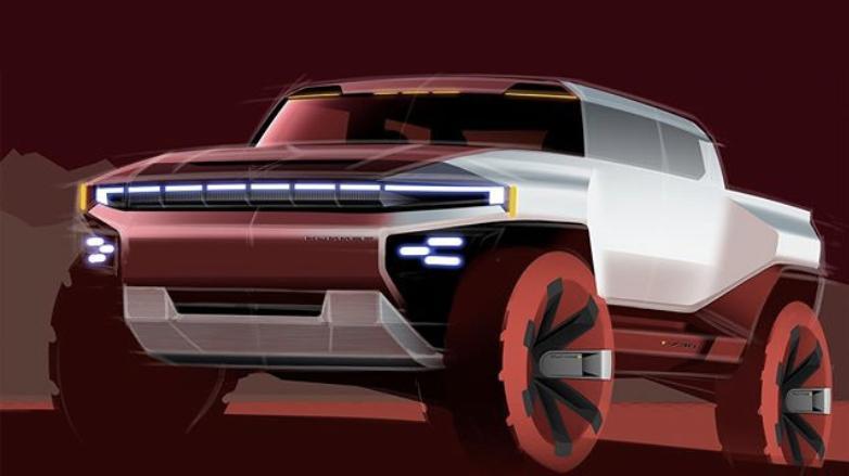 рендер футуристичного дизайна Hummer 2022
