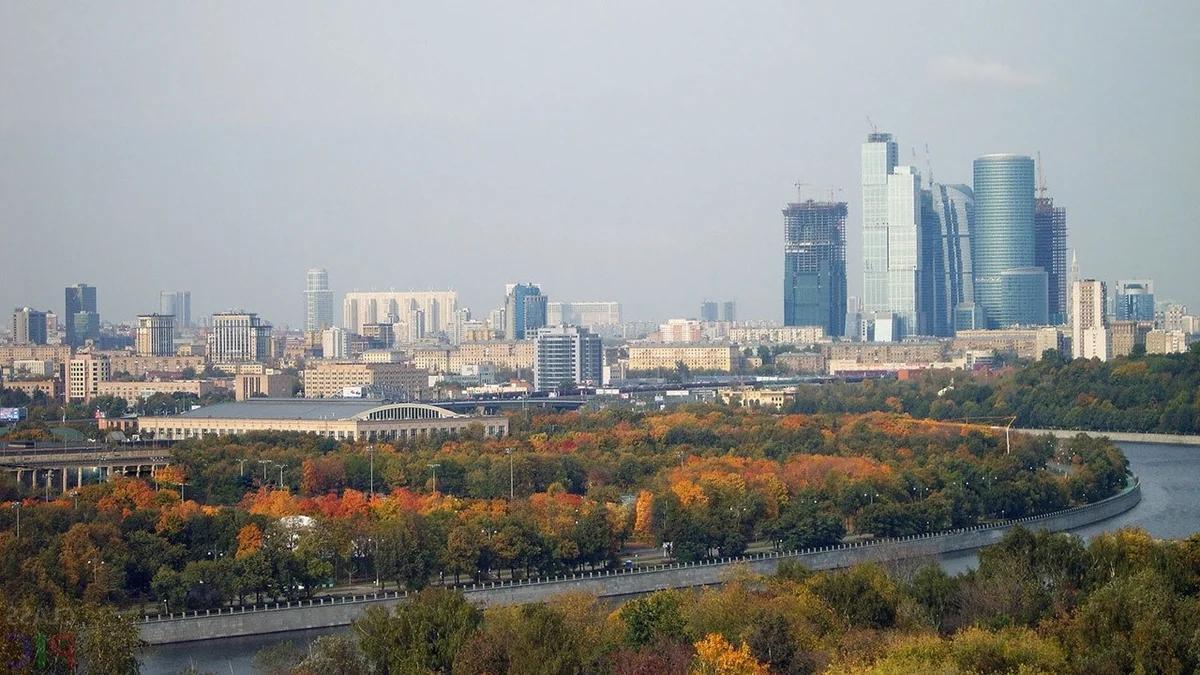 Осень в Москве, Москва-река