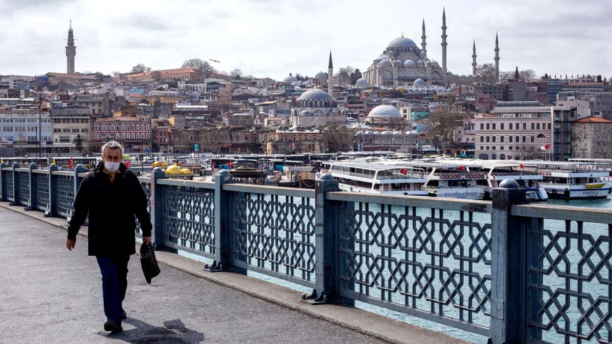 Стамбул турция коронавирус