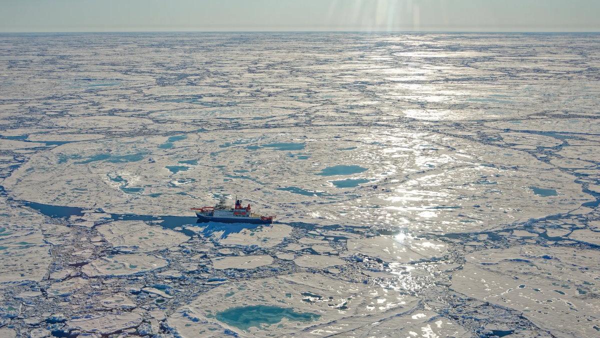 Арктика льды ледокол глобальное потепление
