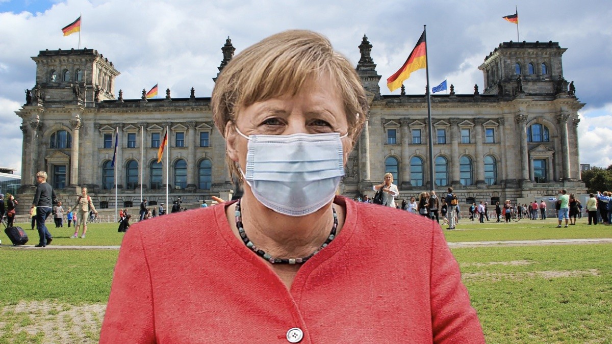 меркель и бундестаг