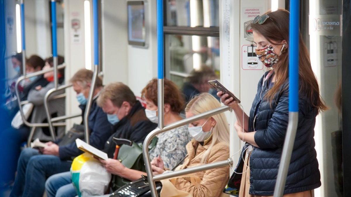 Метрополитен масочный режим маска коронавирус один