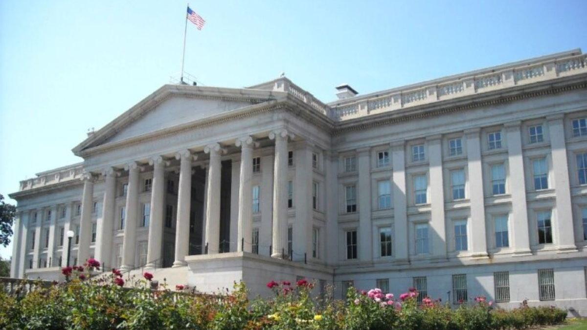 Здание Министерства финансов США
