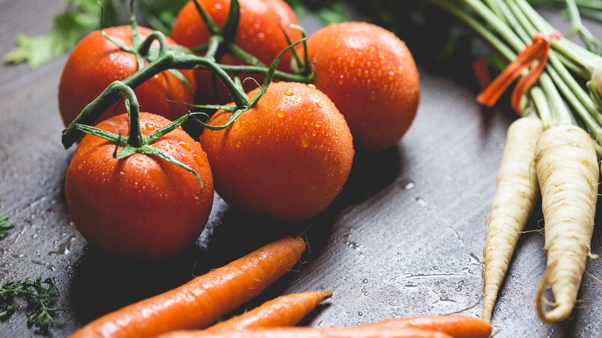 морковь помидор давление