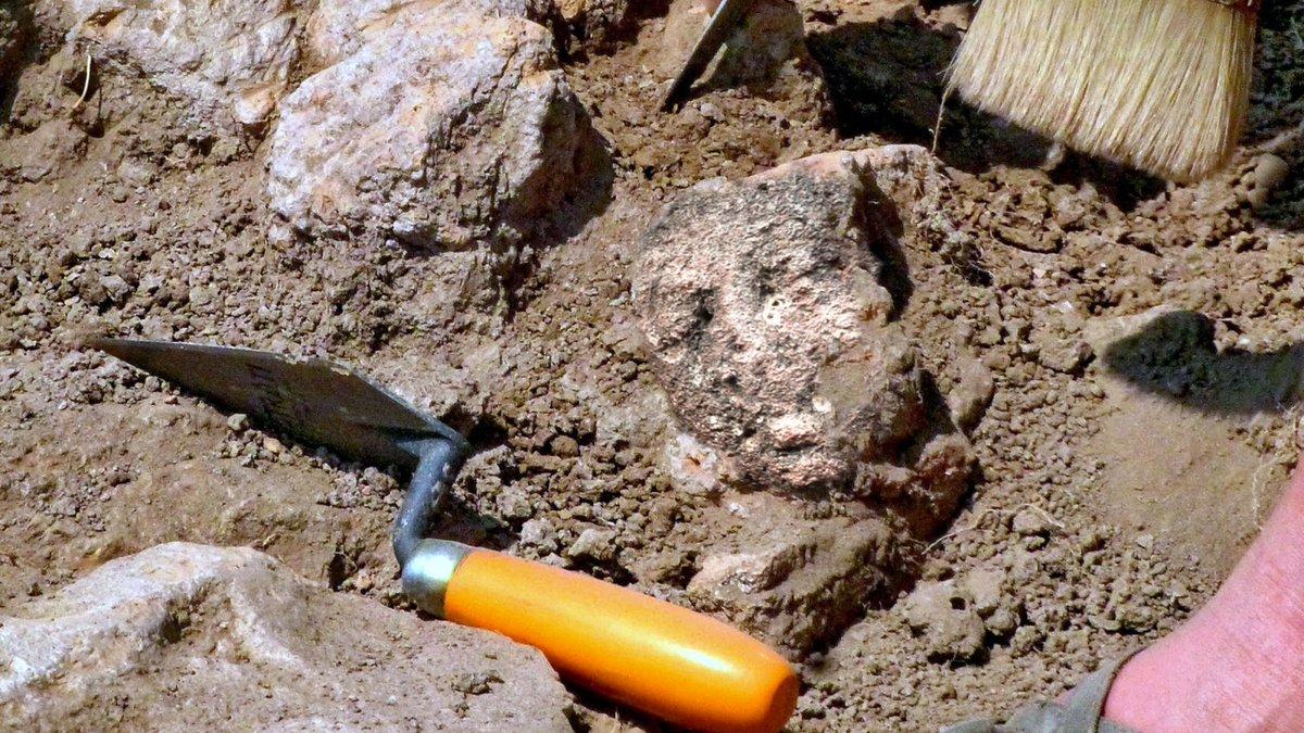раскопки лопатка руины Турция